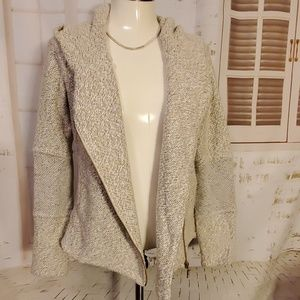 Lucky Brand hooded sweater jacket.